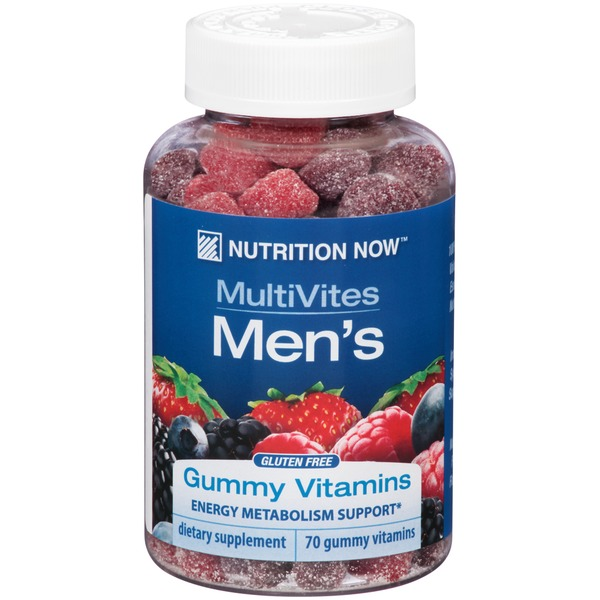 Nutrition Now Men's MultiVites Gummy Vitamins