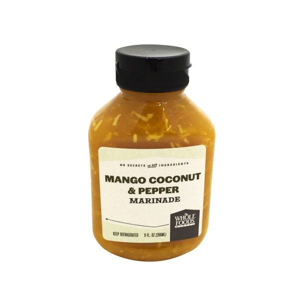 Whole Foods Market Mango Coconut And Pepper Marinade