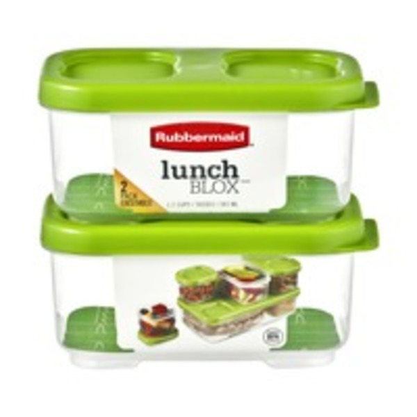 Rubbermaid LunchBlox - 2 CT
