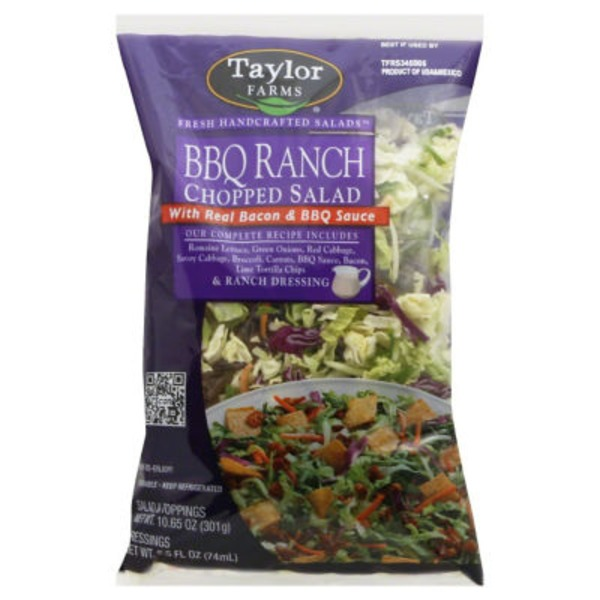 Taylor Farms BBQ Ranch Chopped Salad