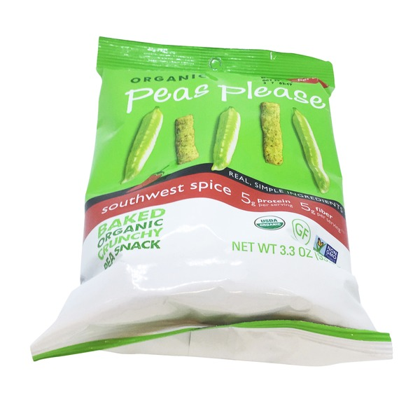 Peeled Snacks Organic Peas Please Southwest Spice