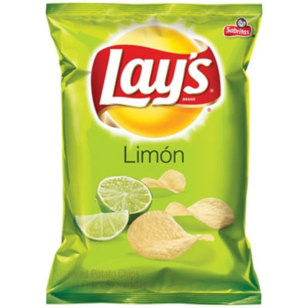 Lay's Limón Flavored Potato Chips