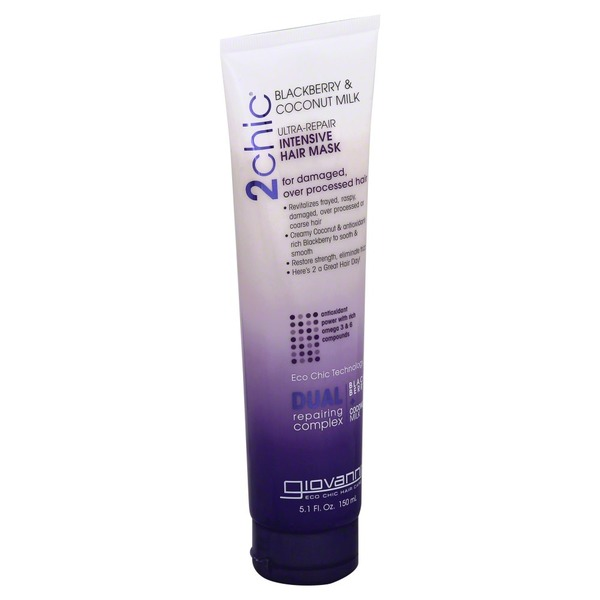 Giovanni 2chic Blackberry & Coconut Milk Repairing Intensive Hair Mask