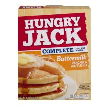 Hungry Jack Complete Buttermilk Pancake & Waffle Mix, 32 oz
