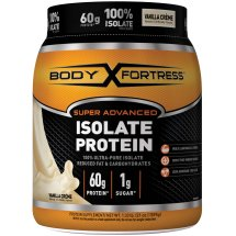 Body Fortress Super Advanced 100% Protein Isolate, Vanilla, 1.33 Pounds