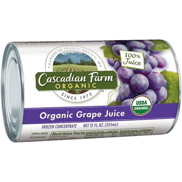 Cascadian Farm Organic Grape Frozen Concentrate 100% Juice