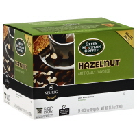 Green Mountain Coffee K-Cup Pods Light Roast Hazelnut - 36