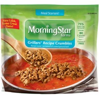 Morning Star Farms Meal Starters Grillers Crumbles Veggie Crumbles