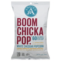 Angies Boomchicapop Popcorn White Cheddar