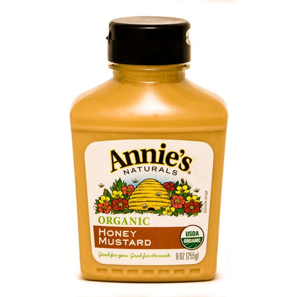 Annie's Homegrown Organic Honey Mustard Mustard