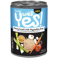 Campbell's Well Yes! Hearty Lentil with Vegetables Soup Soup