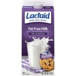 Lactaid 100% Lactose Free Fat Free Milk, 0.5 gal