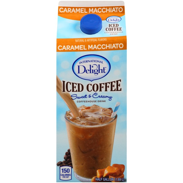 International Delight Coffeehouse Drink Caramel Macchiato Iced Coffee