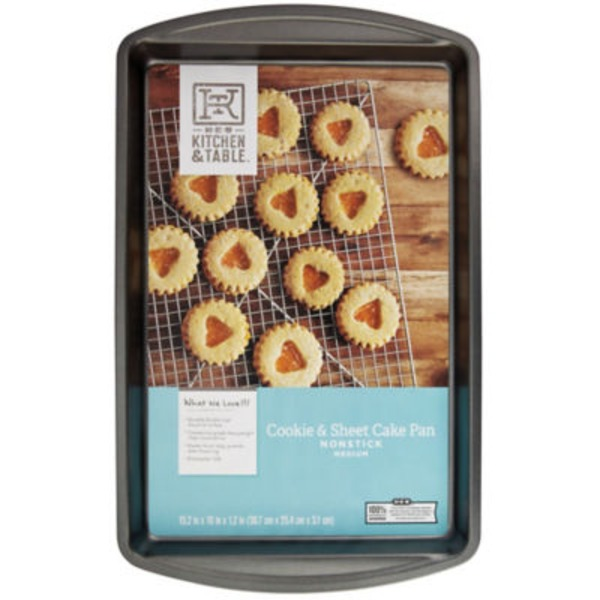 H-E-B Kitchen & Table Medium Cookie And Sheet Cake Pan