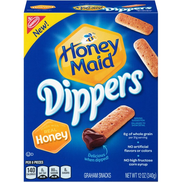 Honey Maid Dippers Honey Graham Snacks