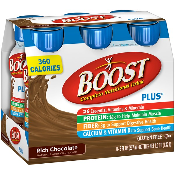 Boost Plus Chocolate Sensation Complete Nutritional Drink