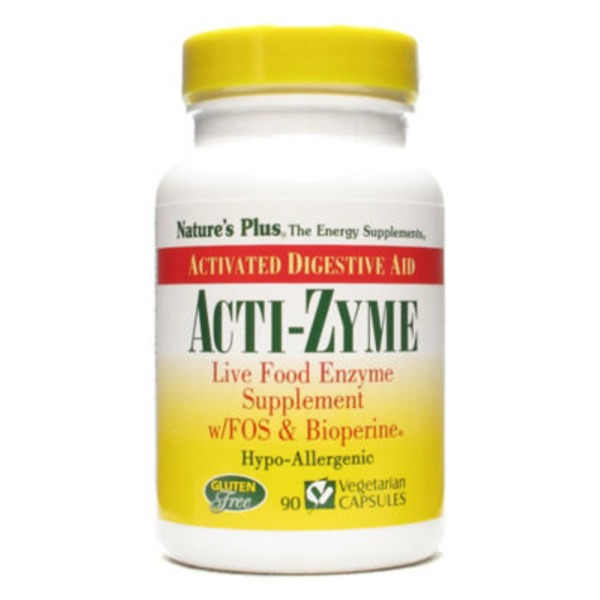Nature's Plus Acti Zyme Vegetarian Capsules