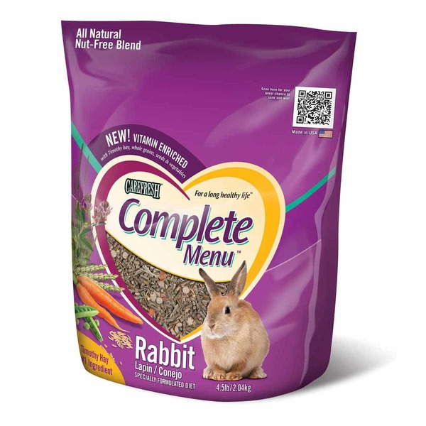 Carefresh Complete Menu Rabbit Food