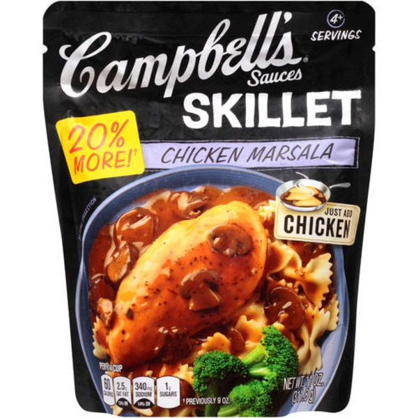 Campbell's Dinner Sauces Skillet Marsala Sauce with Mushrooms & Garlic