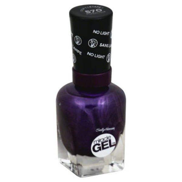 Sally Hansen Miracle Gel Nail Polish - Purplexed 570