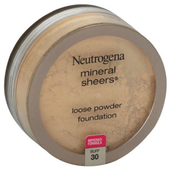 Neutrogena® Mineral Sheers Loose Powder Buff Mineral Sheers®