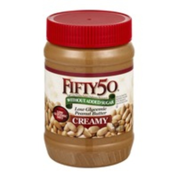FIFTY 50 Low Glycemic Peanut Butter Creamy
