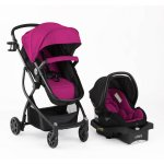Urbini Omni Plus 3 in 1 Travel System, Viola