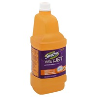Swiffer WetJet Swiffer WetJet Multi-purpose Floor Cleaner Solution Refill with Sweet Citrus & Zest Scent 1.25L Surface Care