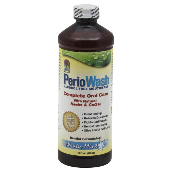 Nature's Answer PerioWash, Winter Mint