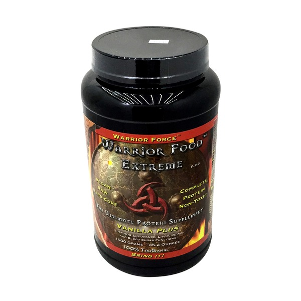 Warrior Force Warrior Food Extreme Vanilla Plus Protein Powder