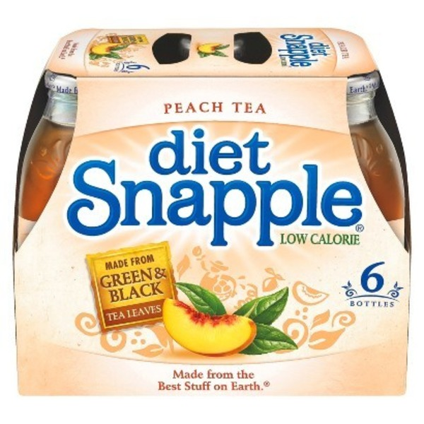 Snapple Diet Peach Diet Tea