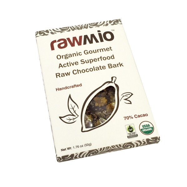 Rawmio Superfood Raw Chocolate Bark