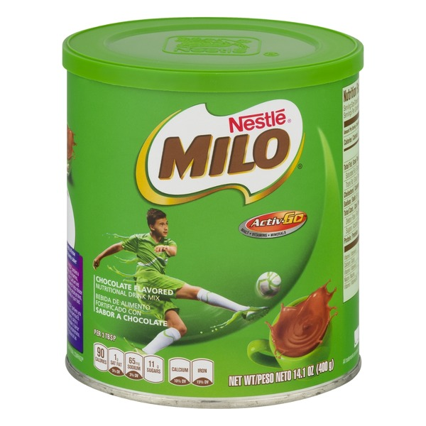 Nestle Milo Nutritional Drink Mix Chocolate Flavored