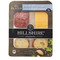 Hillshire Snacking Italian Dry Salame with Natural Gouda Cheese & Toasted Rounds Small Plates