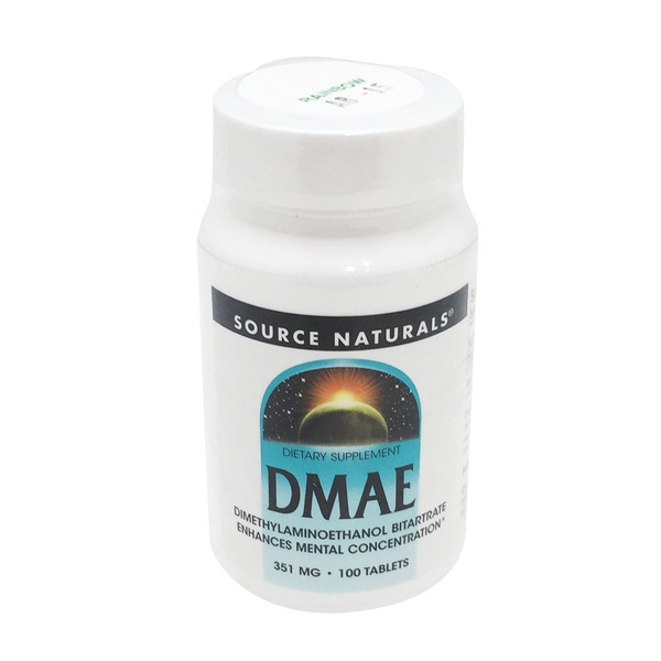 Source Naturals DMAE 351 mg Tablets