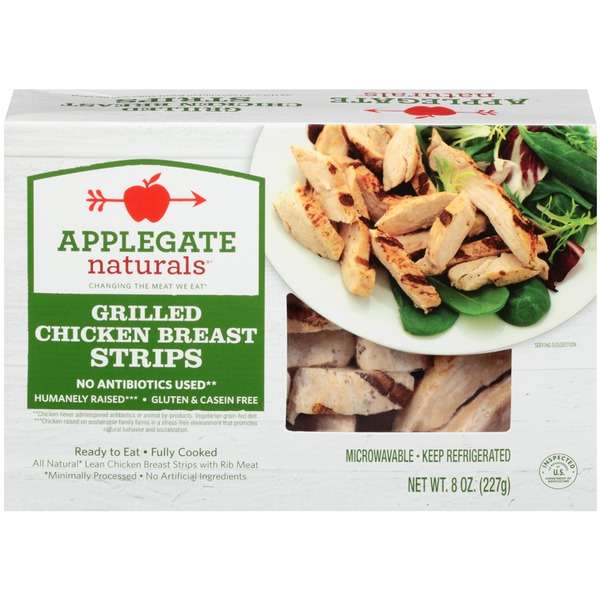 Applegate Naturals Grilled Chicken Breast Strips