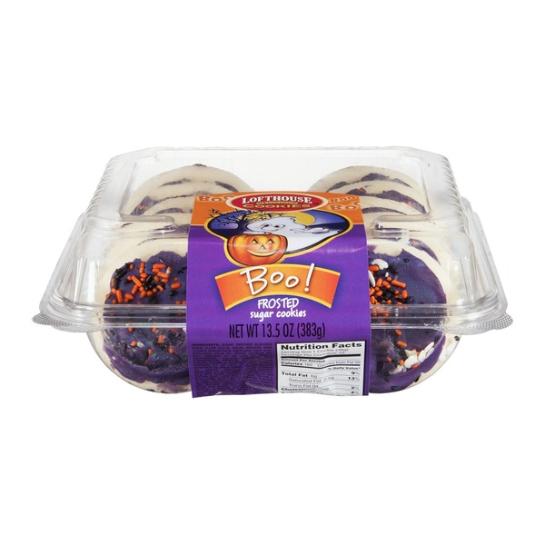 Lofthouse Boo! Frosted Sugar Cookies