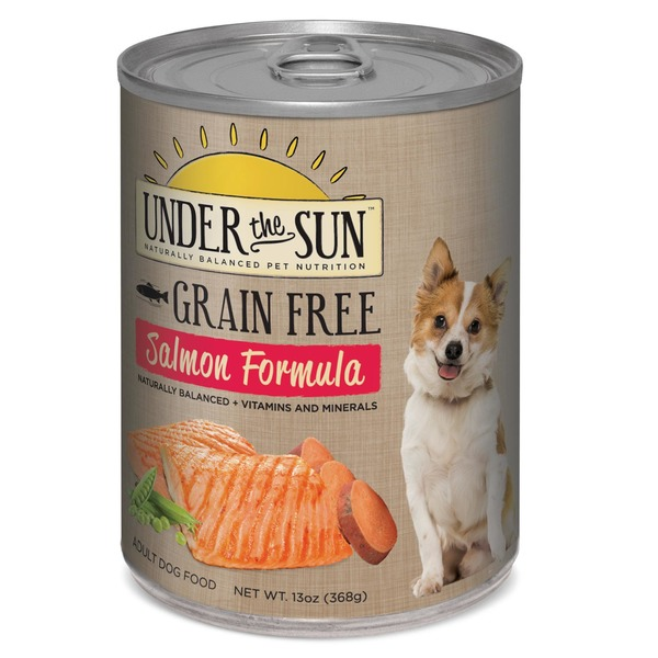 Under The Sun Grain Free Salmon Canned Adult Dog Food Case Of 12 13 Oz.