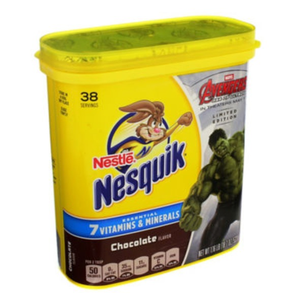 Nestle Nesquik Chocolate Flavored Milk Powder