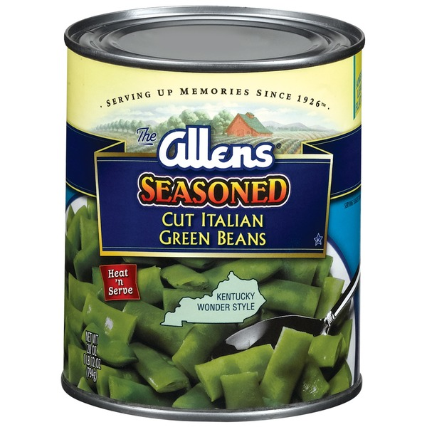 The Allens Cut Italian Seasoned Kentucky Wonder Style Green Beans