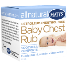 Matys All Natural Baby Chest Rub 1.5 Ounces