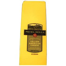 Prima Della Yellow American Cheese, Deli-Sliced