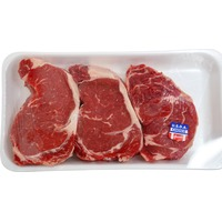 USDA Choice Boneless Beef Ribeye Steak