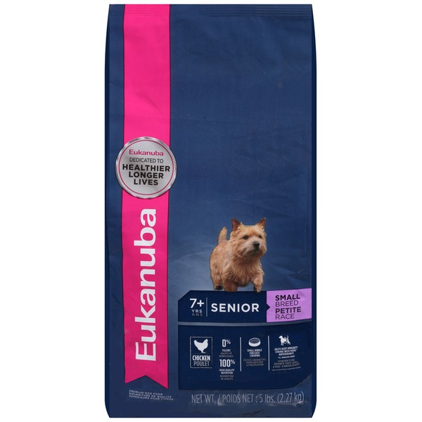 Eukanuba Senior Small Breed Chicken Dog Food