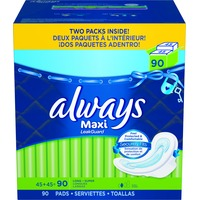 Always Maxi Long Super with Flexi-Wings Pads
