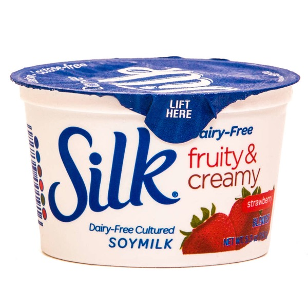 Silk Dairy-Free Strawberry Yogurt Alternative