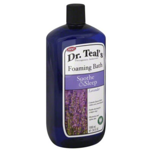 Dr. Teal's Lavender Foaming Bath