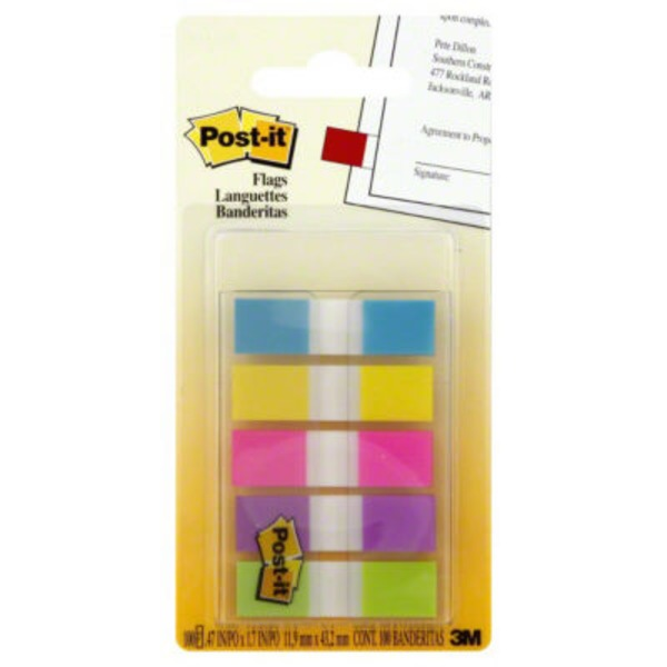 Post-it Flags - 100 CT