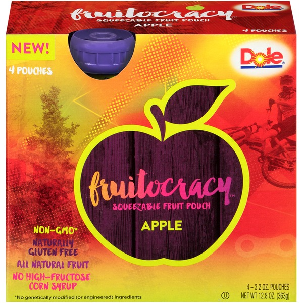 Dole Fruitocracy Apple Squeezable Fruit