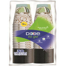 Dixie to Go PerfecTouch 12 Oz Cups & Lids